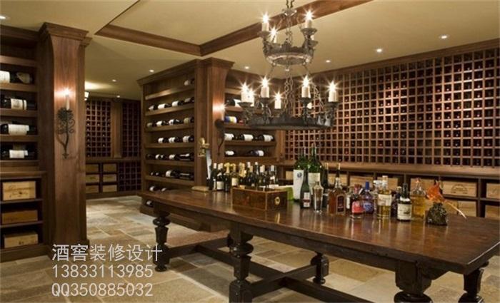 供应石家庄酒窖装修设计之酒庄装饰设计艺术篇