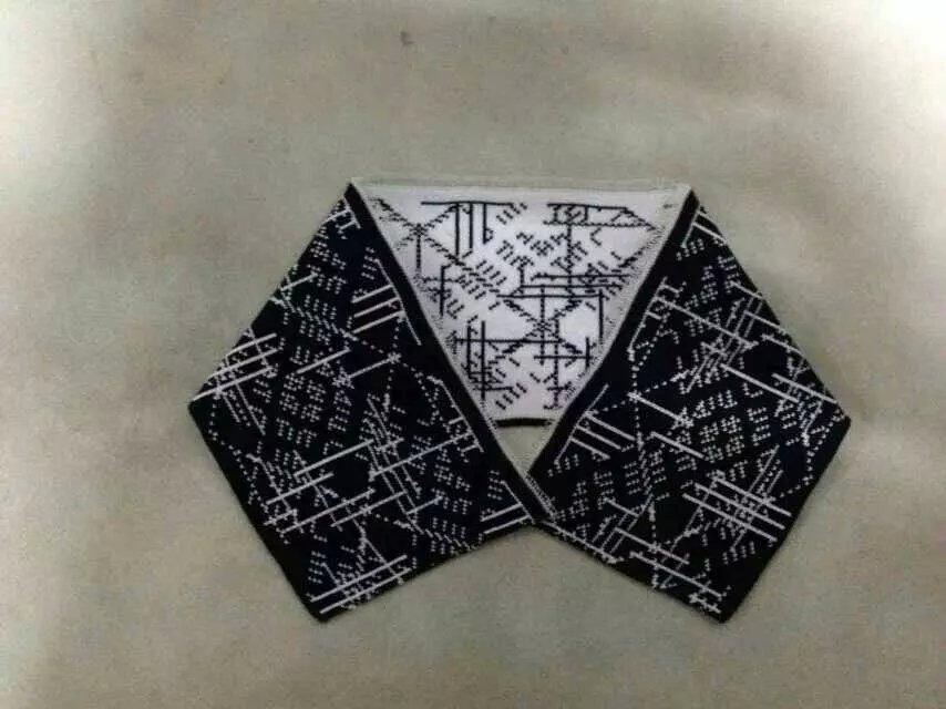 袖口及茄克衫下摆横机罗纹图片/袖口及茄克衫下摆横机罗纹样板图 (4)