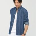 供应用于服装的高档男式品牌商务衬衫OEM定制加工