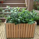 供应用于公共环卫设施的木制花箱