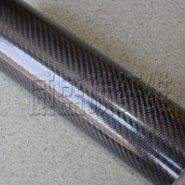 3K斜纹碳纤维管图片
