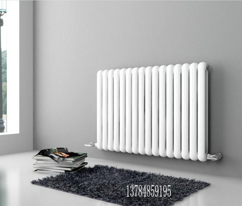 供应钢制二柱暖气片工程散热器