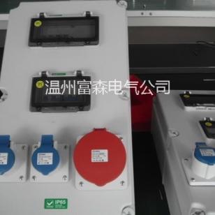 生产IP55防水插座箱、IP66防水插座图片