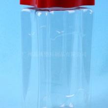 供应怡口莲糖果瓶 扁方形塑料瓶 1500ML塑料瓶 PET批发