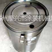 静电发生器专用不锈钢供粉桶带流化图片