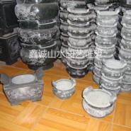 上海六灶公墓石雕香炉图片