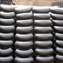 供应用于连接管道的厂家直销 碳钢管件黑漆弯头