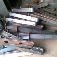 膜结构雨棚钢梁,金属预埋件批发图片
