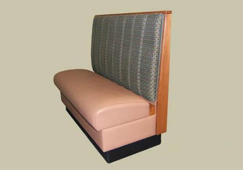 供应用于皮革的简约现代咖啡厅西餐厅卡座沙发餐桌