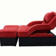郑州可躺美容美甲沙发躺椅按摩床图片