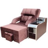 供应郑州电动足浴沙发足疗沙发美甲沙发可躺平电动休闲沙发浴室大厅沙发床