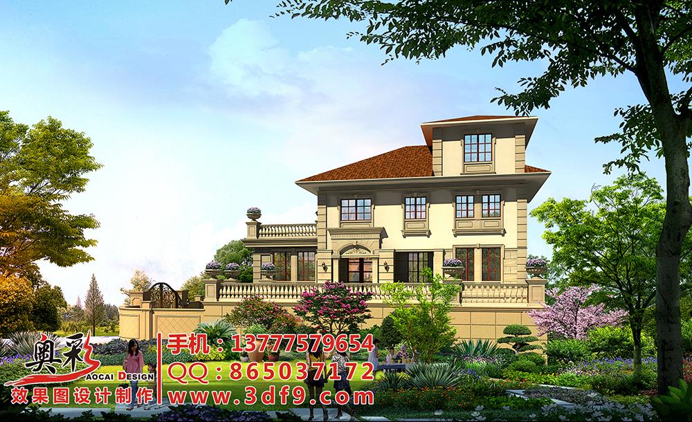 供应杭州自建别墅设计效果图平面图施工