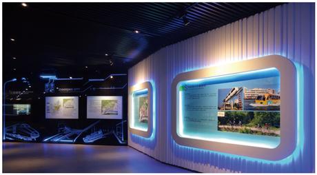 山东欧联数字多媒体展览展示设计图报价