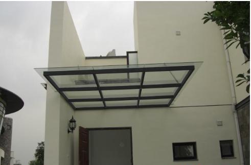 钢结构雨棚,安全玻璃雨棚,不生锈,抗震,私人定制,建筑装饰!