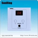 深圳对讲厂家供应SunRing病房电视伴音系统TS-A1音量显示养老院电视背景声音接收器