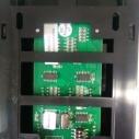 供应用于乘客呼梯的蒂森电梯半塑料半不锈钢超薄外呼盒