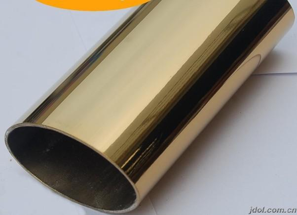 供应用于装饰装修不锈钢彩色管|不锈钢钛金管|304不锈钢玫瑰金管|
