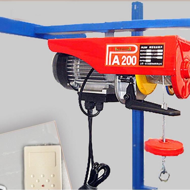 供应pa400装修专用微型电动葫芦