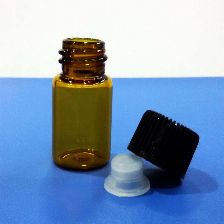 3ML塑料盖玻璃瓶图片/3ML塑料盖玻璃瓶样板图 (3)