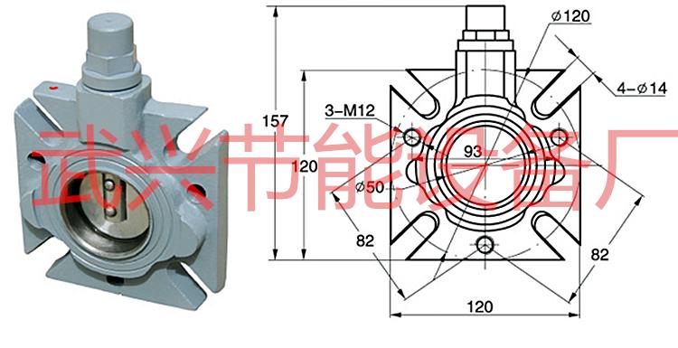 df系列板式蝶阀技术性能如下:   1,工作温度:-40~120℃   2,环境温图片