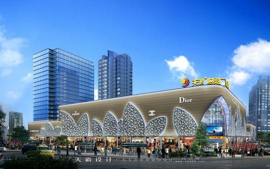 青岛商场装修设计价格