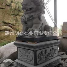 供应赣州花岗岩石狮子,吉安石狮子厂家,赣州麻石石狮子