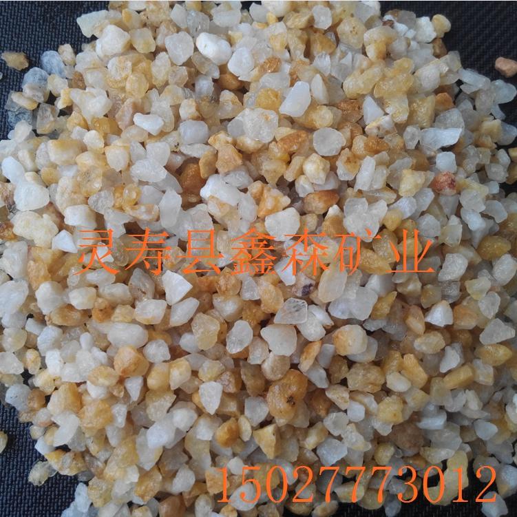 石英砂滤料图片/石英砂滤料样板图 (2)