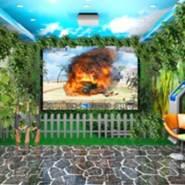 3d实感模拟激光射击系统图片
