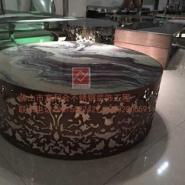 长沙酒店KTV不锈钢茶几厂家图片