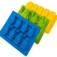 供应机器人硅胶冰格,lego人仔硅胶冰格价格,乐高积木硅胶冰格厂家直销,汉川实业批发
