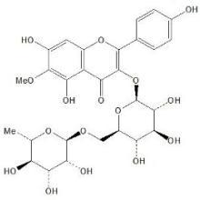 供应6-甲氧基山柰酚-3-O-芸香糖苷