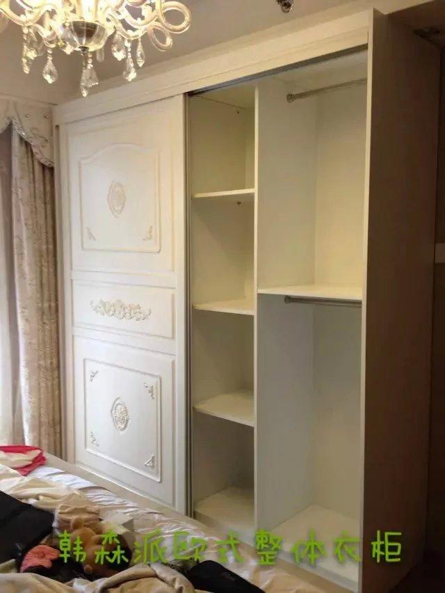供应儿童房衣柜卡通推拉门烤漆儿童衣柜