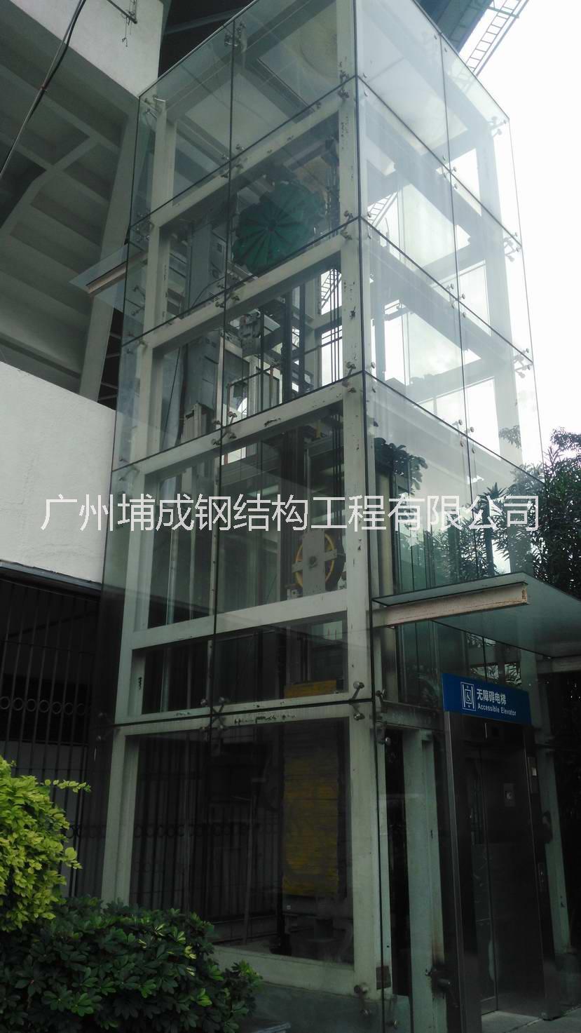 供应北京电梯井道钢结构施工方案