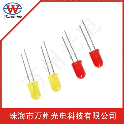 供应万州光电发射管3mm 5mm红外发射管 价格优惠