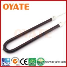 供应用于各类加热设备的U形碳纤维红宝石发热管