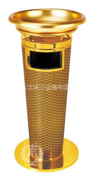 供应用于西安室内垃圾的西安高级四菱角烟灰盅垃圾桶