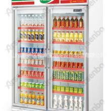供应用于饮料展示柜的双门展示柜 便利店饮料展示柜 饮料展示柜价格 供应展示柜厂家