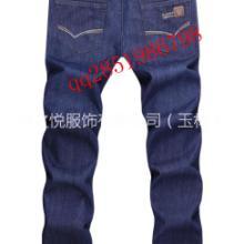 供应2015新款蓝色牛仔裤男青少年批发