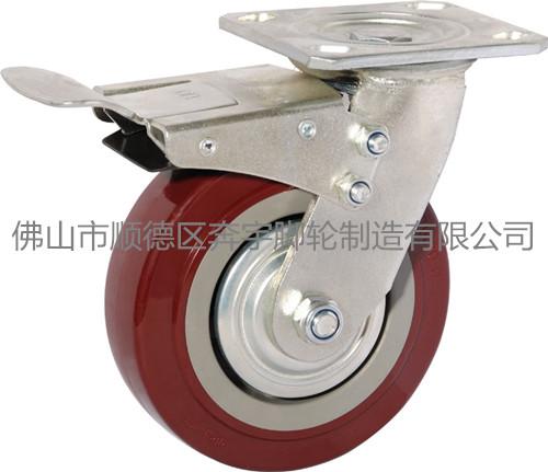 重型超级聚氨酯轮 工业脚轮 定向图片/重型超级聚氨酯轮 工业脚轮 定向样板图 (4)