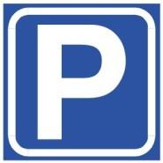深圳停车场P字指示牌停车区标志牌图片