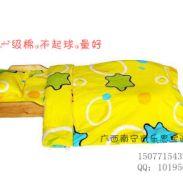 广西南宁幼儿园儿童纯棉被子套件图片