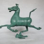 马踏飞燕青铜器工艺品礼品办公摆件图片