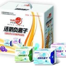 供应江西卫生巾生产厂家/厂家直销   月如意卫生巾批发