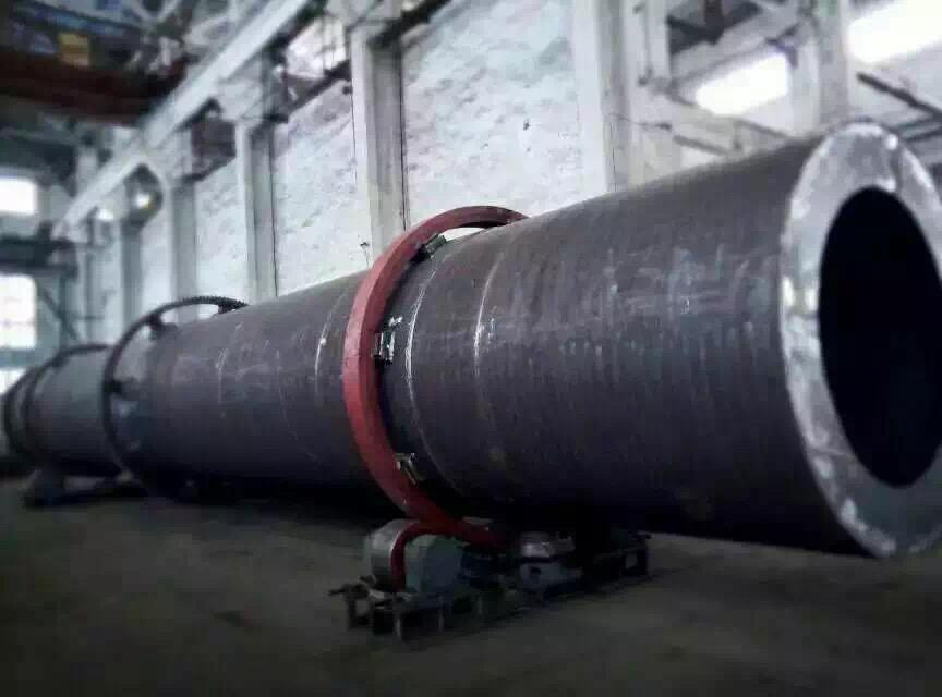1000kg/h腐植酸型回转滚筒干燥机,腐植酸烘干机