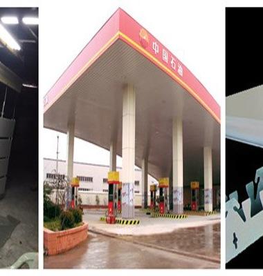 安徽加油站包边白色圆角图片/安徽加油站包边白色圆角样板图 (4)