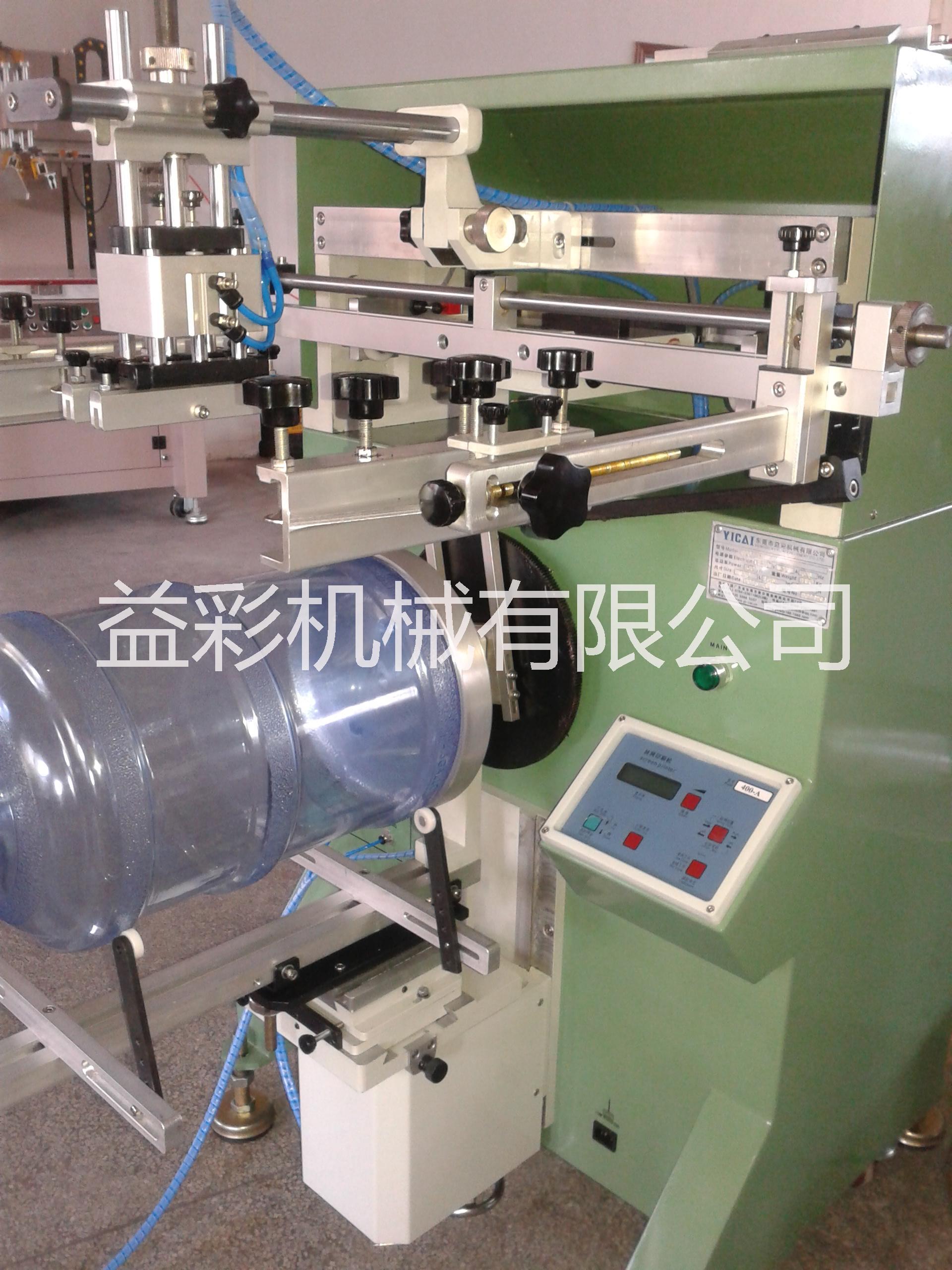 供应矿泉水桶丝印机圆面锥面丝网印刷机,印刷设备厂家,圆面锥面丝网印刷机原来