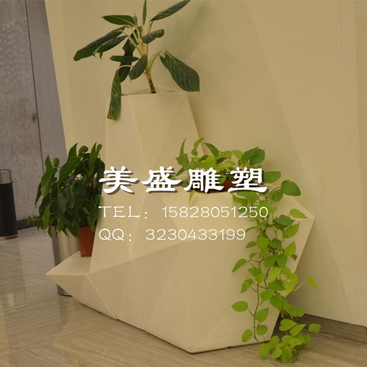 玻璃钢景观花盆销售