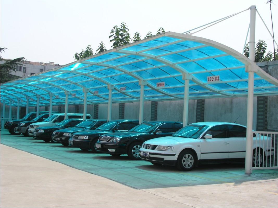 厦门膜结构遮雨棚停车棚遮阳棚批发