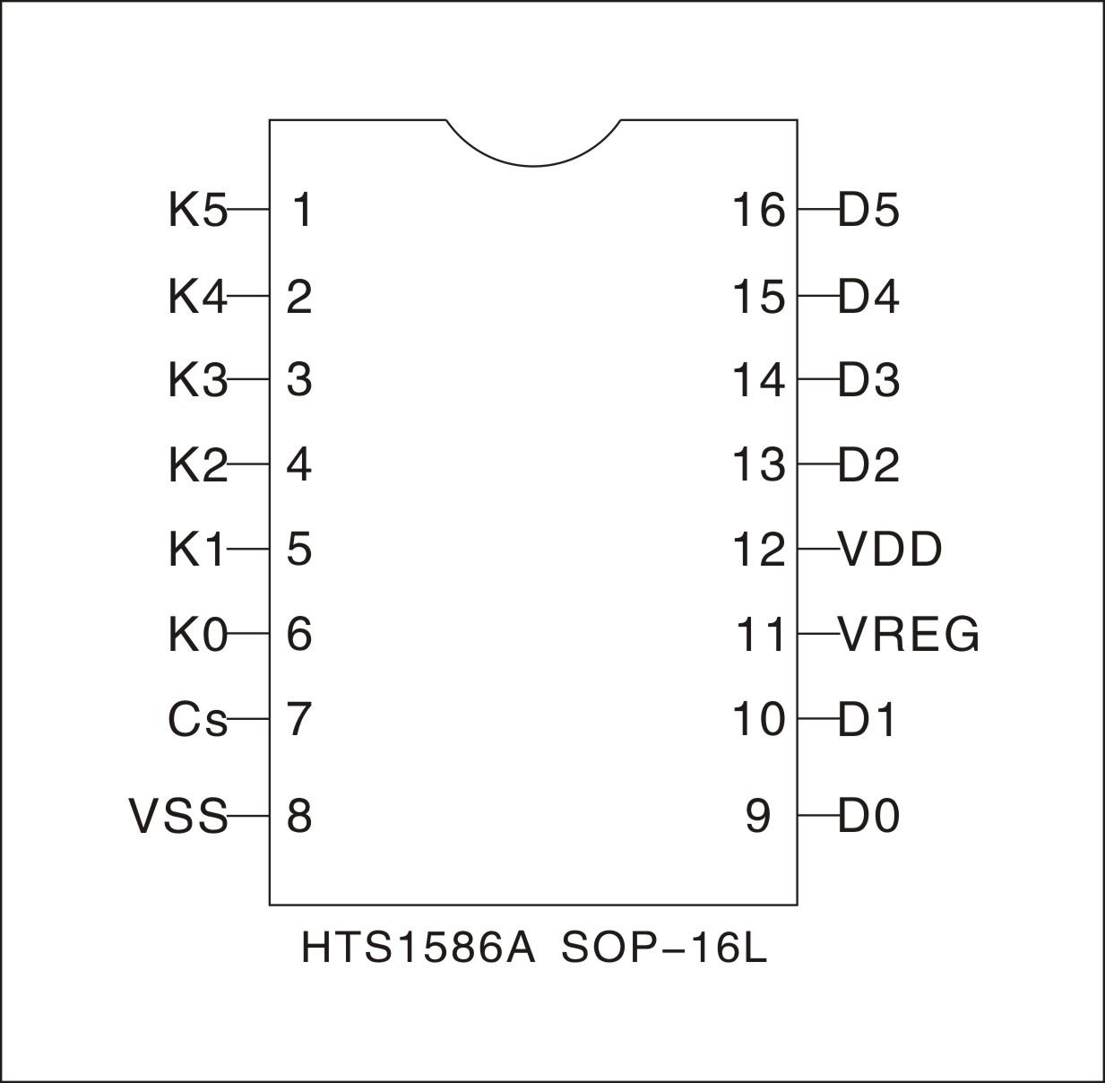 触摸开关|电器开关厂家|控制板开发的原厂提供6通道电容式触控芯片ic