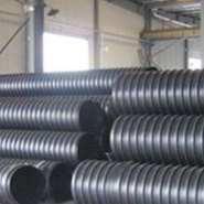 内蒙HDPE钢带增强波纹管价格优图片